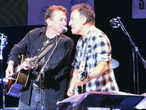 Joe Ely with Bruce Springsteen_SXSW 2012_by Chris M. Junior