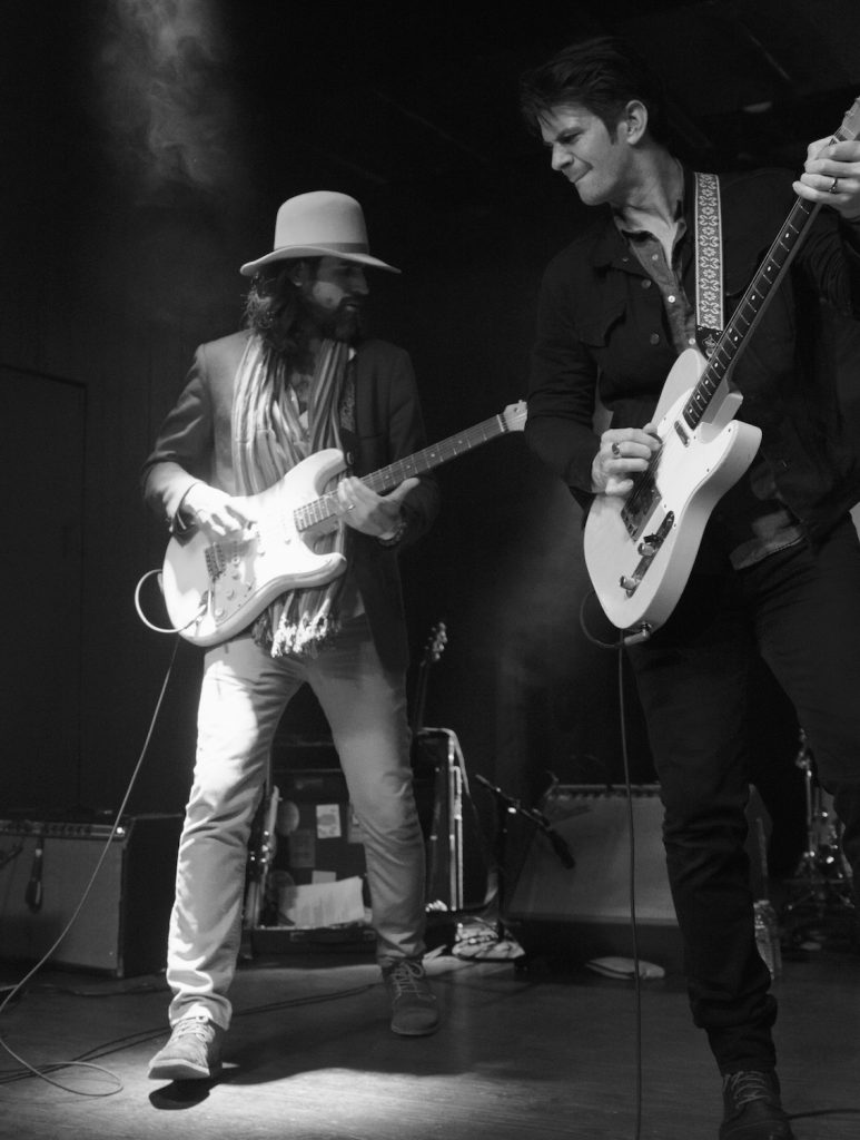 Ed Jurdi (left) and Gordy Quist of The Band of Heathens March 15, Parish