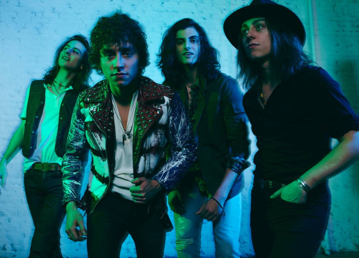 Greta Van Fleet_Sam, Josh, Danny and Jake_photo by Michael Levine