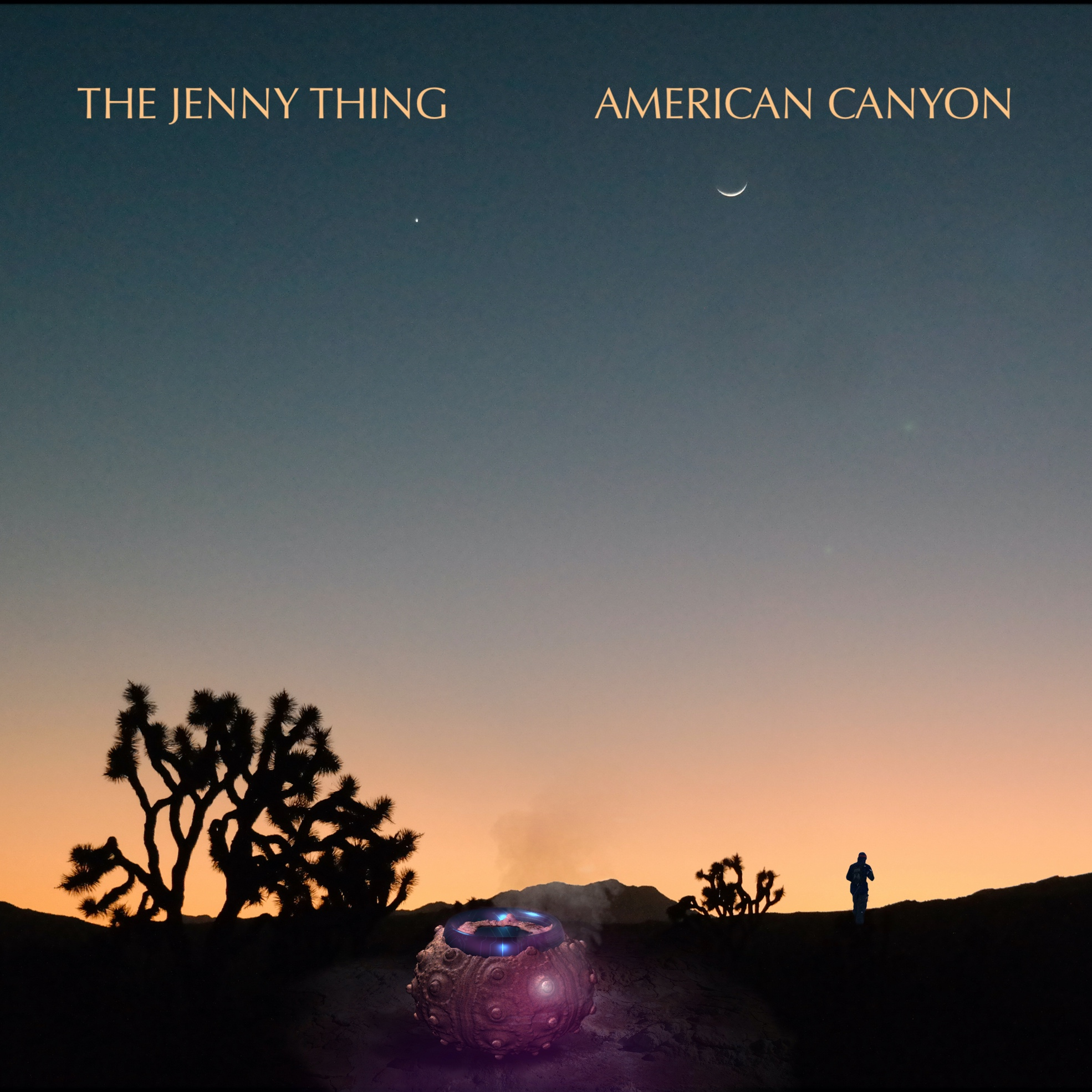 The Jenny Thing_American Canyon_album Cover